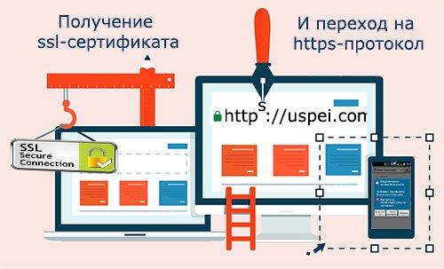 Переходим на https протокол