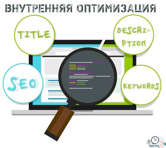 Внутренняя оптимизация - title description keywords