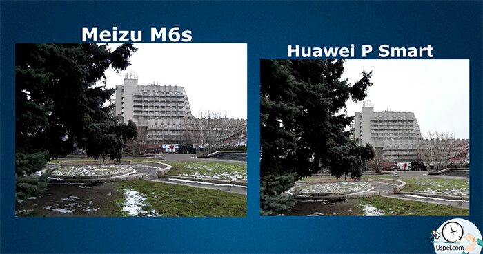 Meizu M6s vs Huawei P Smart: Основная камера