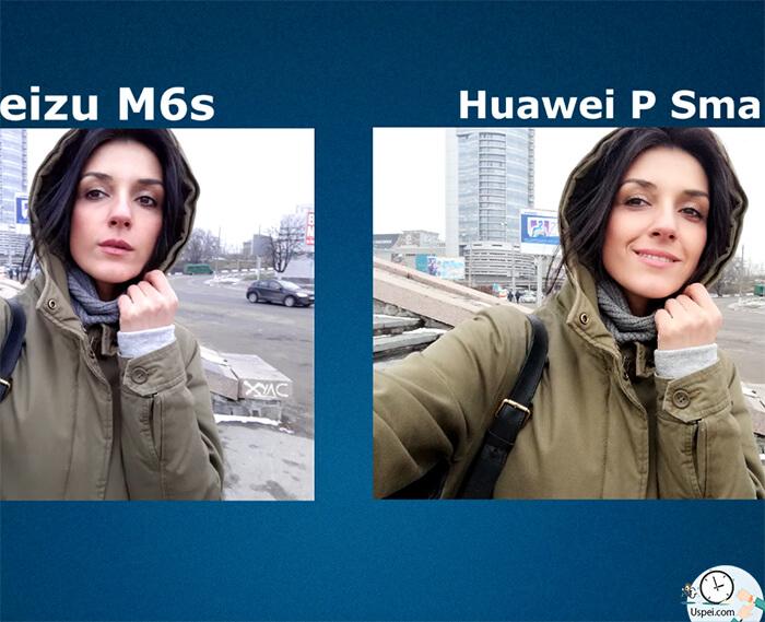 Meizu M6s vs Huawei P Smart: Фронтальная камера