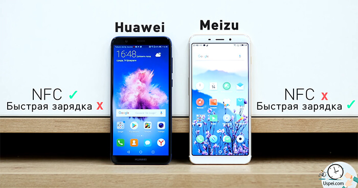 Meizu M6s vs Huawei P Smart: Дополнительные плюсы и минусы