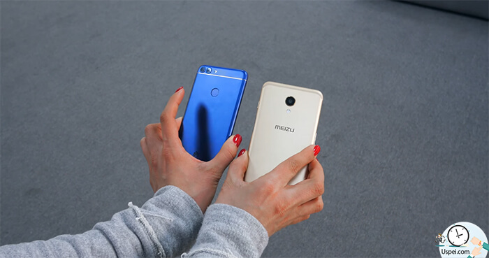 Meizu M6s vs Huawei P Smart: Дизайн