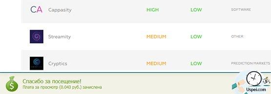 Серфинг сайтов на seosprint.net - результат