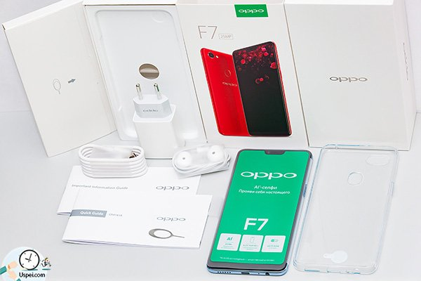 Oppo F7 - комплект