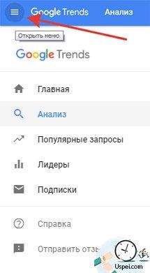 Обновленные Google Trends