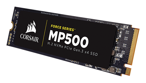 Corsair Force MP500 на 480 гигабайт
