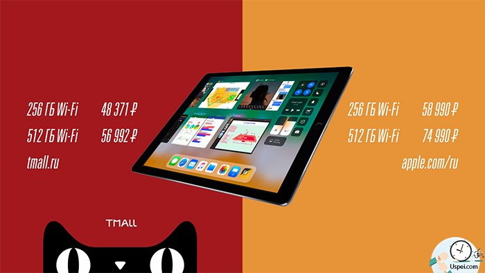 Этот iPad обошёлся нам в 48 371 рубль