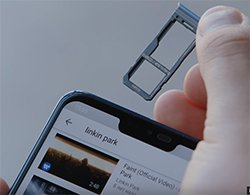 Есть слот под microSD