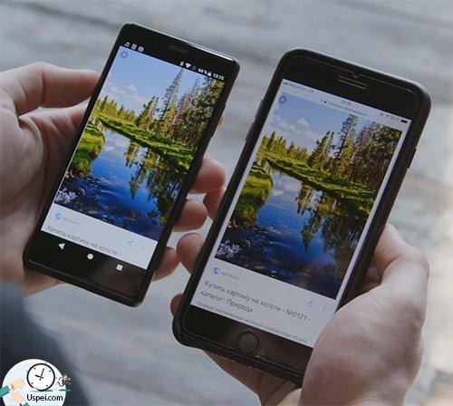 Картинка чуть более холодная, чем на последних «теплых» iPhon'ах 8.