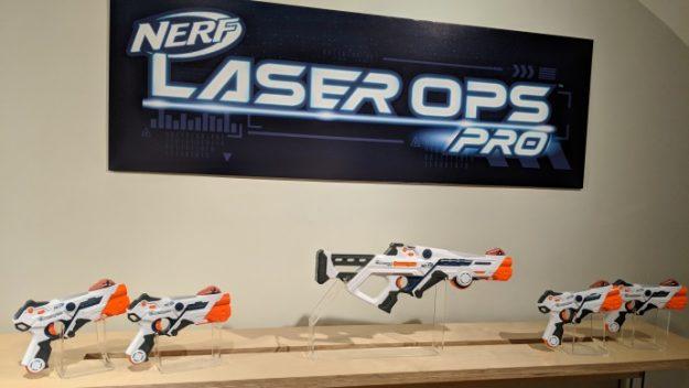 Новая линейка бластеров Nerf Laser OPS PRo