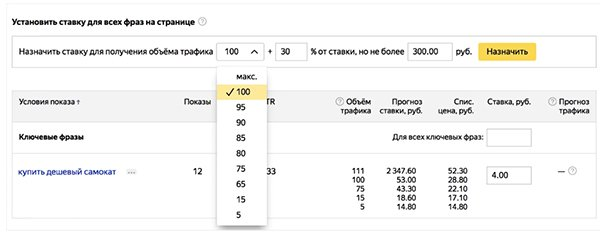 Новые метрики в интерфейсе