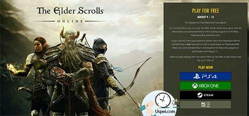 The Elder Scrolls Online бесплатно для всех до 15 августа