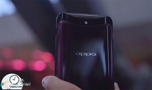 Oppo Find X - камера сзади раскрывающаяся