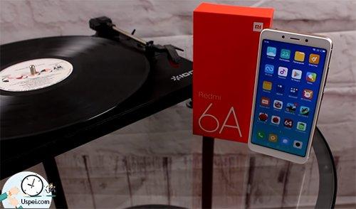 Xiaomi Redmi 6A - красивый дизайн