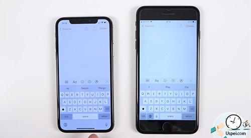 размеры дисплеев iPhone - клавиатура это боль