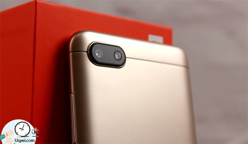 Xiaomi Redmi 6A - камера и вспышка