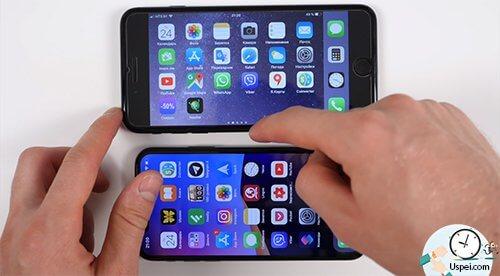 размеры дисплеев iPhone - картинка не поворачиваетсЯ