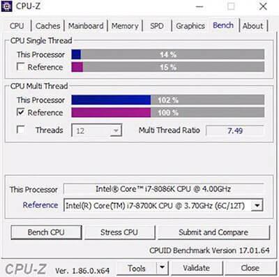 Юбилейный процессор Intel i7-8086K