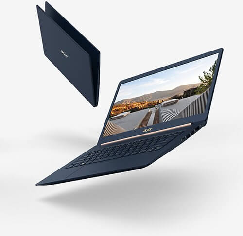 Acer SWIFT 5 - это самый легкий в мире 15-дюймовый ноутбук