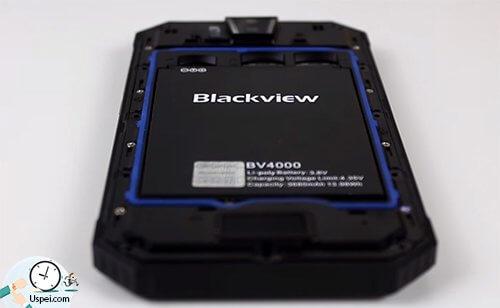 Blackview BV4000 PRO - съемная батарея