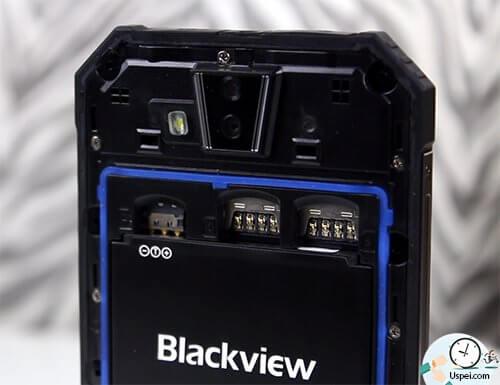 Blackview BV4000 PRO - слоты