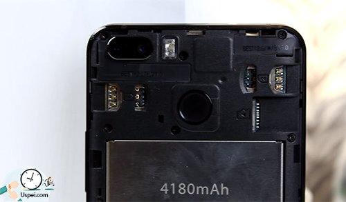 Blackview S6 - задняя крышка снимается