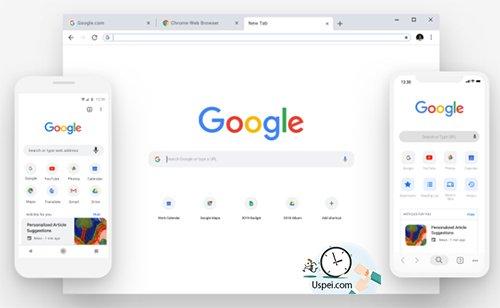 Новый дизайнGoogleChrome в честь юбилея!