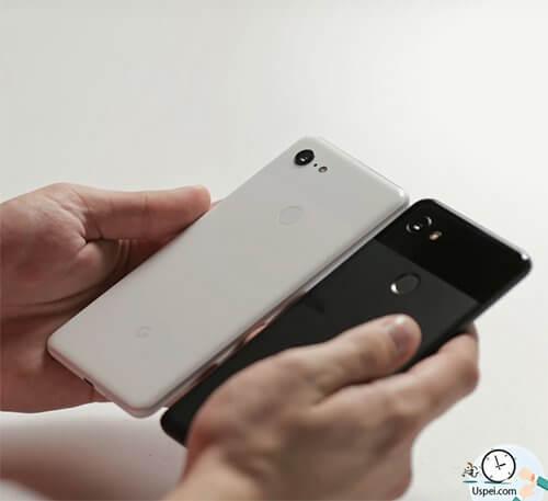 Pixel 3 XL - по размеру такой же как Pixel 2