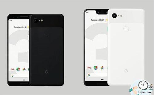 Pixel 3 XL - большой с челкой, маленький без