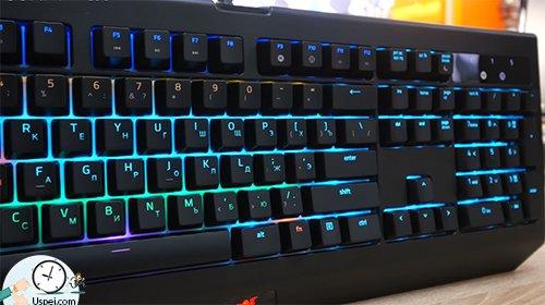 Клавиатуры Razer: BlackWidow Chroma с подсветкой