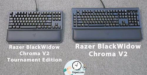 Клавиатуры Razer: BlackWidow Chroma - большой  и компактный вариант