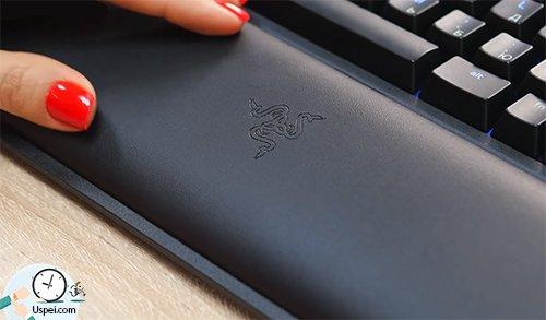 Клавиатуры Razer: BlackWidow Chroma - подставка под запястья с логотипом
