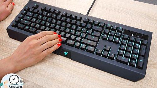 Клавиатуры Razer: BlackWidow Chroma - красивый дизайн