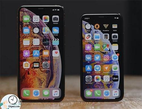 iPhone Xs, Xs Max и Xr