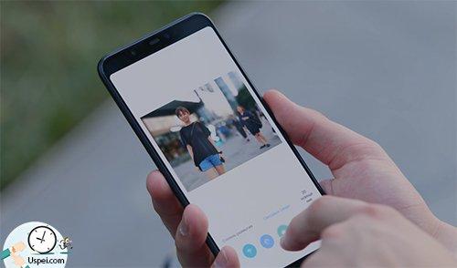 Xiaomi Mi 8 - функция Световые следы