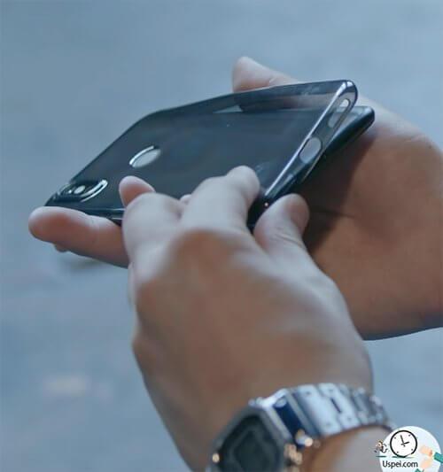 Xiaomi Mi A2 - имеется чехол среднего качества