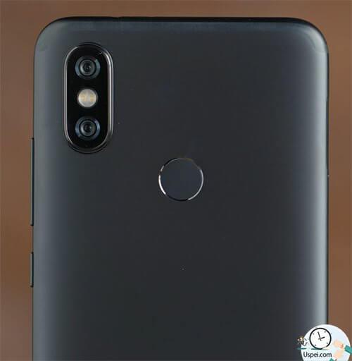 Xiaomi Mi A2 сканер отпечатков на задней крышке