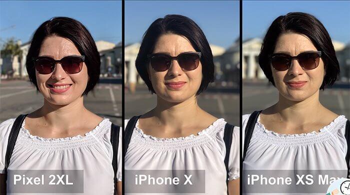 iPhone XS Max - портретный режим улучшили