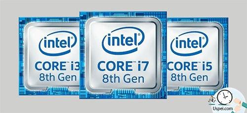 три процессора серии U от Core i3 до Core i7