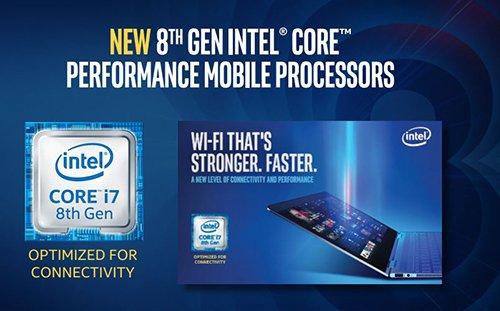 Intel вместо 9-го поколения Core показал мобильную версию 8-го