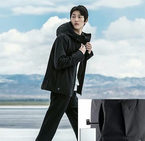 Xiaomi выпустит куртку с подогревом и аккумулятором