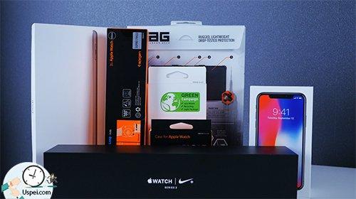 Распаковка крутых аксессуаров для iPhone X, iPad и Apple Watch