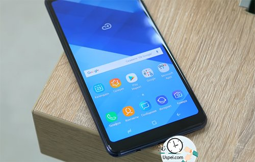 Как снимает Samsung Galaxy A7 2018 - AMOLED матрица