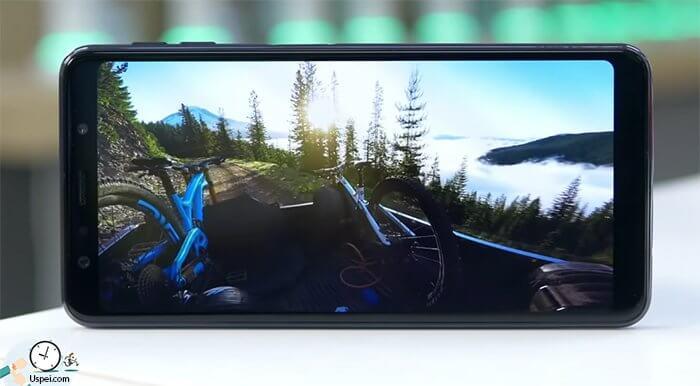 Как снимает Samsung Galaxy A7 2018 0 обрезает немного видео