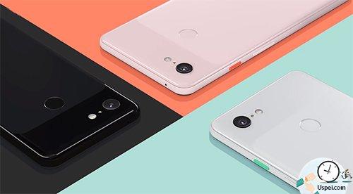 Новый флагман GooglePixel 3 иPixel 3 XL - три цвета