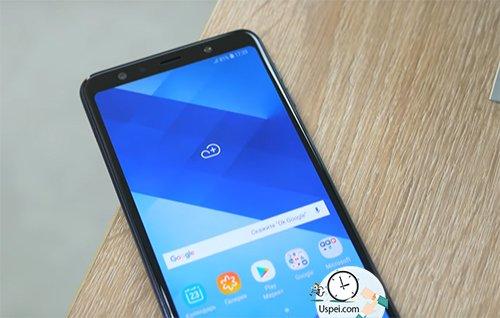 Как снимает Samsung Galaxy A7 2018
