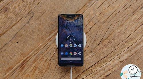 Google Pixel 3 – беспроводная зарядка