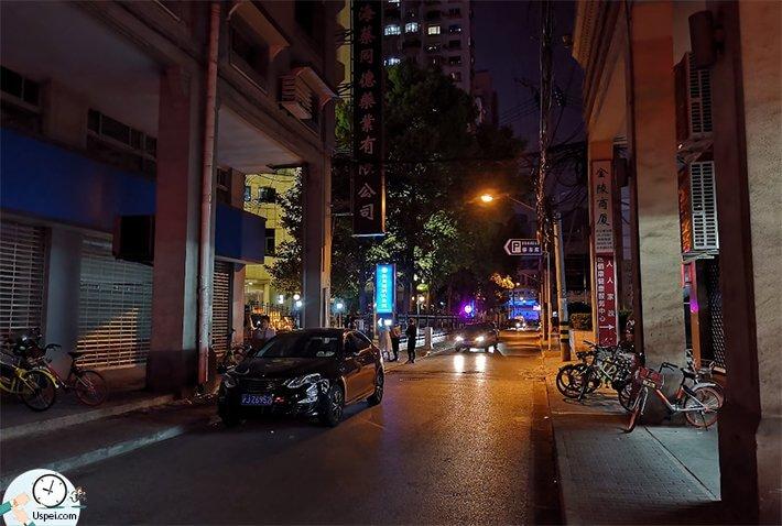 Обзор Huawei P20 Pro - пример ночной съемки