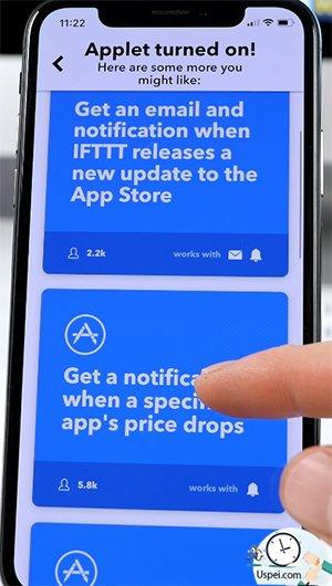 Бесплатное приложение IFTTT