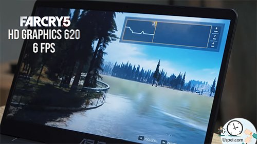 Intel HD Graphics 620 vs NVIDIA MX150 - FarCry5